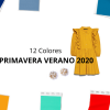 12 Colores de Primavera Verano 2020