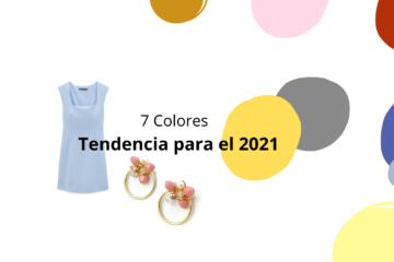 Colores tendencia para el 2021
